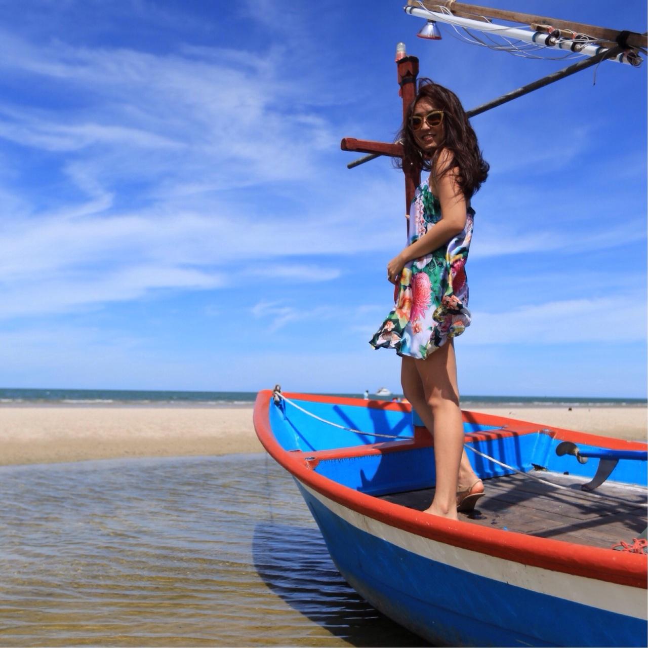 Beach float in HuaHin